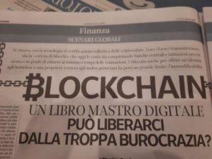 Blockchain – Un libro mastro digitale può liberarci dalla troppa burocrazia?