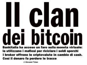 Il clan dei bitcoin