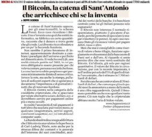 Bitcoin, la catena di Sant'Antonio che arricchisce chi se la inventa