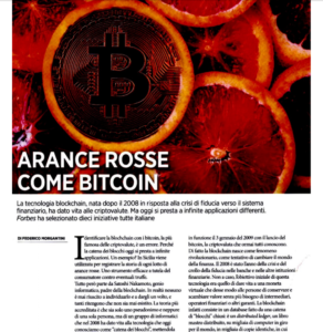 Arance rosse come bitcoin