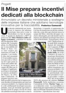 Il Mise prepara incentivi dedicati alla blockchain