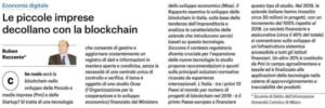 Le piccole imprese decollano con la blockchain