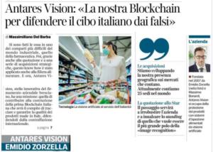 Antares Vision: «La nostra Blockchain per difendere il cibo italiano dai falsi»