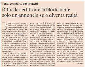 Difficile certificare la blockchain: solo un annuncio su 4 diventa realtà